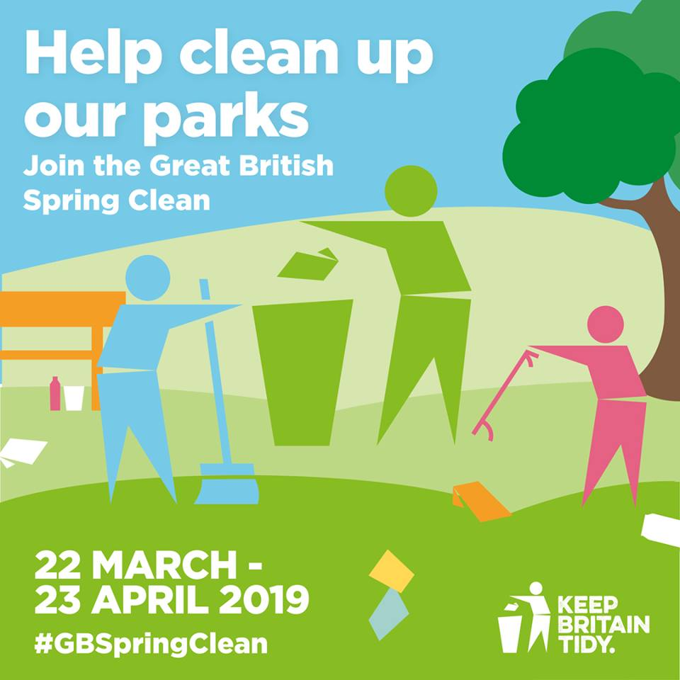 Great British Spring Clean at Linear Park