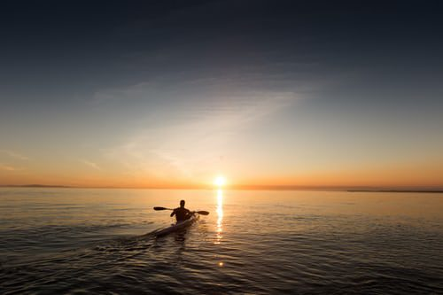 September Sunrise Paddle