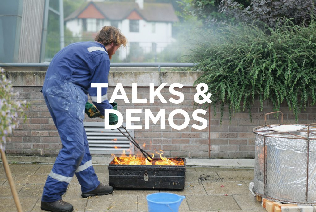 Talks and Demos at the Whitegold Festival