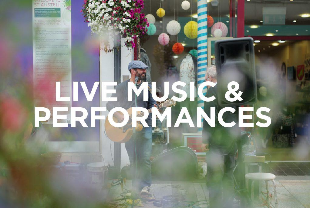 Live Music at the Whitegold Festival