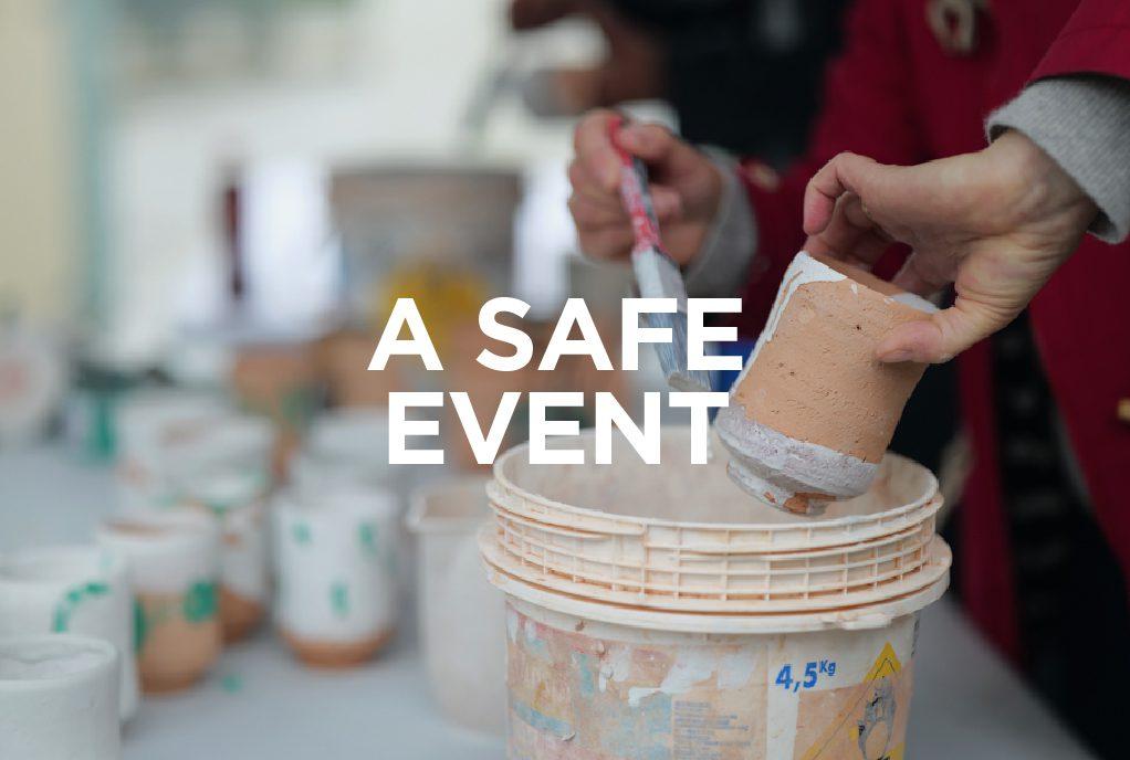 Whitegold Festival Safe Event Banner